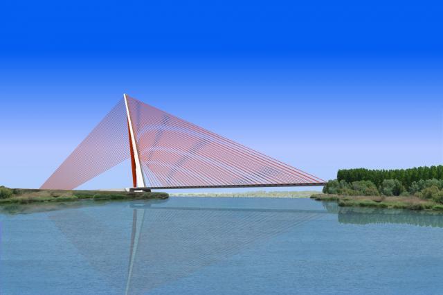 Proyecto del Puente de Castilla La Mancha en Talavera de la Reina